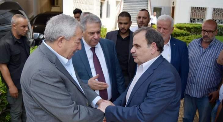 العالول يلتقي فاعليات صيدا: عودة الحوار الفلسطيني- الفلسطيني في لبنان قريبة