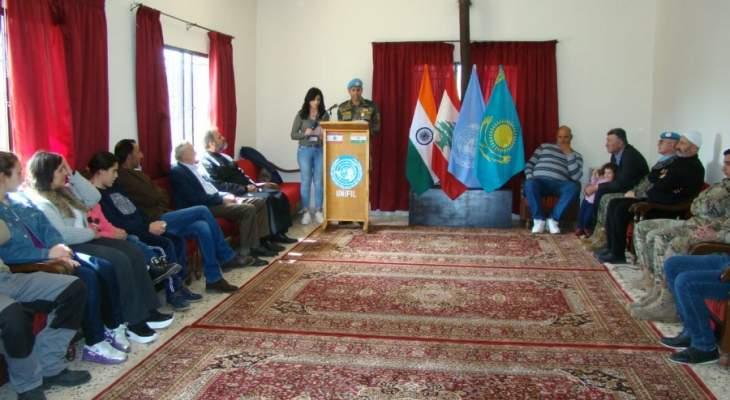 الكتيبة الهندية ومكتب الشؤون المدنية في اليونيفيل يفتتحان ملعبا للأطفال في ابوقمحة