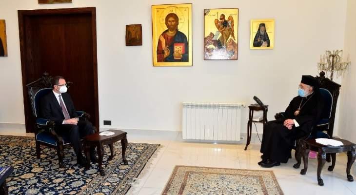 عودة التقى السفير التركي مشددا على دور بلده في مساندة لبنان