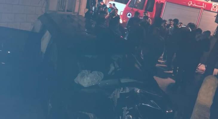 4 جرحى صدما على طريق عام نيو سهيلة