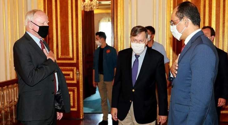 قالن وجيفري بحثا بالأزمة السورية وأعمال اللجنة الدستورية والقضايا الإقليمية