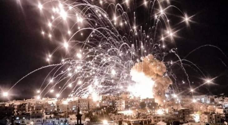 الجيش الاسرائيلي دمر جميع مباني مقر قيادة إدارة الجوازات في قطاع غزة