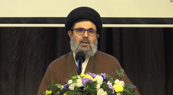 صفي الدين: استهداف مناطقنا وبيئتنا وشعاراتنا يزيدنا قوة وعزماً لنصل إلى نصر جديد