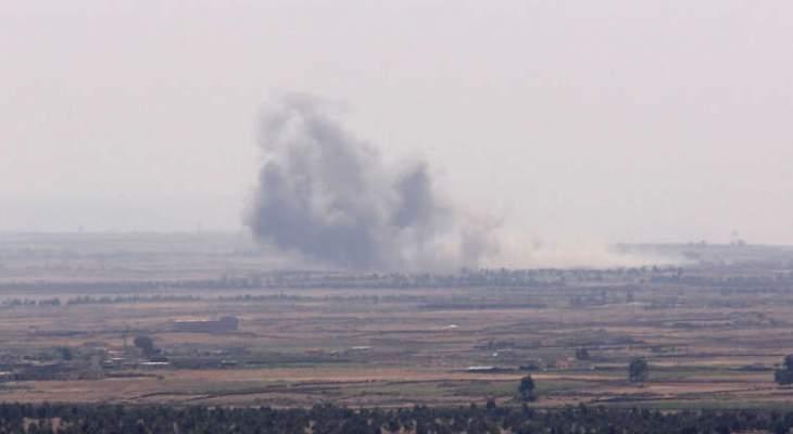 الجيش السوري:العملية الاسرائيلية بالقنيطرة اقتصرت اضرارها على الماديات