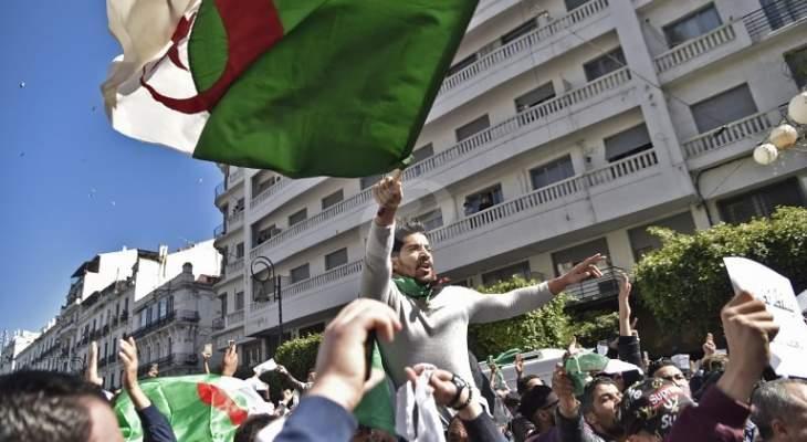 """آلاف الجزائريون أحيوا الذكرى الثانية للإنتفاضة التي أطاحت بـ""""بوتفليقة"""""""