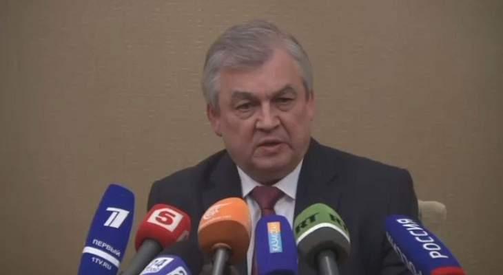 لافرينتييف: موسكو لا ترى جدوى في توسيع المنطقة الآمنة على الحدود السورية