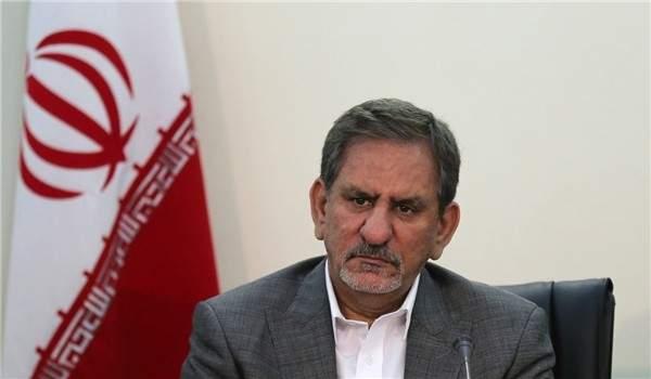 نائب الرئيس الايراني يشيد بجهود وزير النفط رغم الحظر المفروض