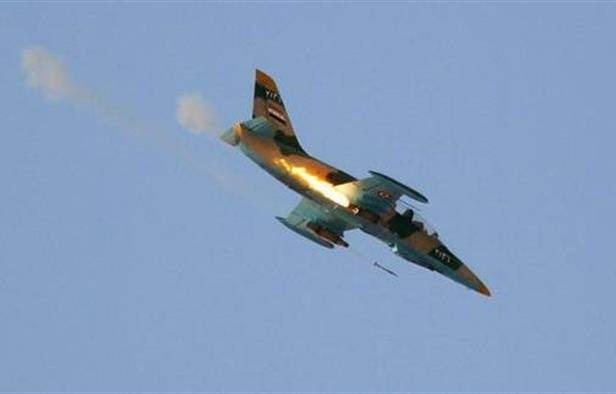 الطيران الحربي السوري قصف رتلًا مدعومًا من تركيا في معرة النعمان