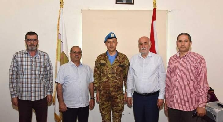 قائد القطاع الغربي لليونيفيل يزور بلدية جويّا والبيّاض
