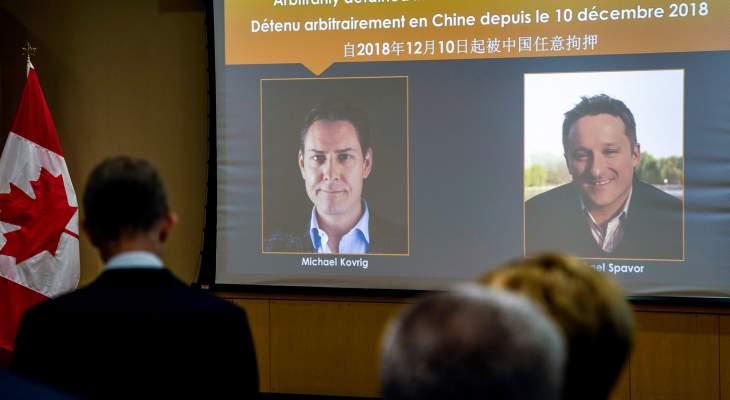 ترودو: الصين أطلقت سراح كنديين اثنين بعد احتجازهما منذ 2018