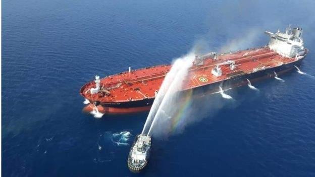 """""""الغارديان"""": طاقم السفينة النرويجية المؤلف من 23 شخصًا قيد الاحتجاز لدى ايران"""