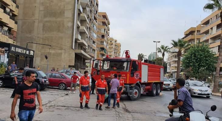 النشرة: إخماد حريق شب داخل شقة على الاوتوستراد الشرقي لمدينة صيدا