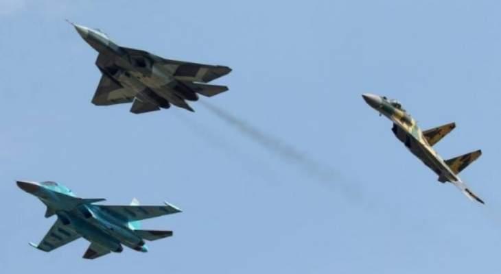 المرصد السوري: قتلى وجرحى من داعش بأكثر من 70 غارة جوية روسية على البادية السورية