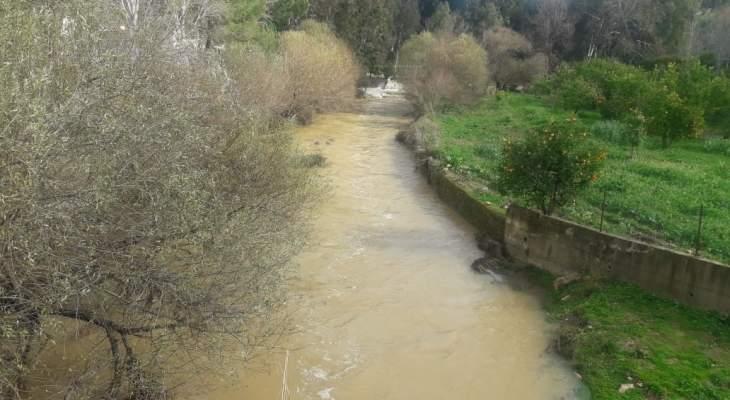 النشرة: تساقط أمطار غزيرة في منطقة حاصبيا