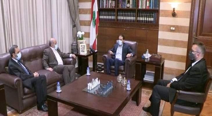 الحريري بحث مع الأمين العام للجماعة الإسلامية في الاوضاع