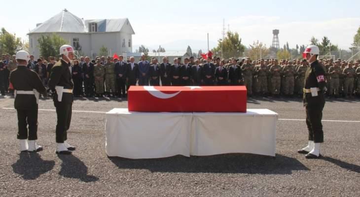 الدفاع التركية: مقتل جندي تركي بهجوم صاروخي على قاعدة بعشيقة شمالي العراق