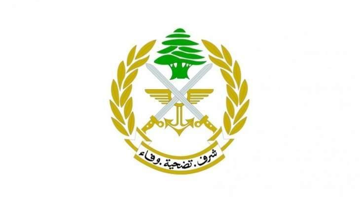 الجيش: خرقان جويان إسرائيليان للأجواء اللبنانية وآخر بحري