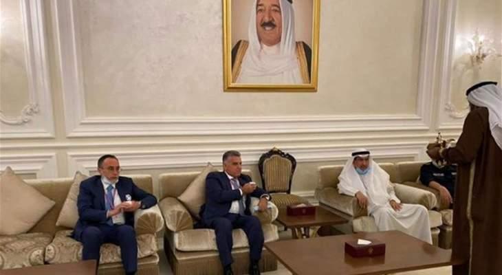 مصادر كويتية للراي: الاجتماعات التي أجراها ابراهيم في الكويت ايجابية ولا نتائج فورية للزيارة