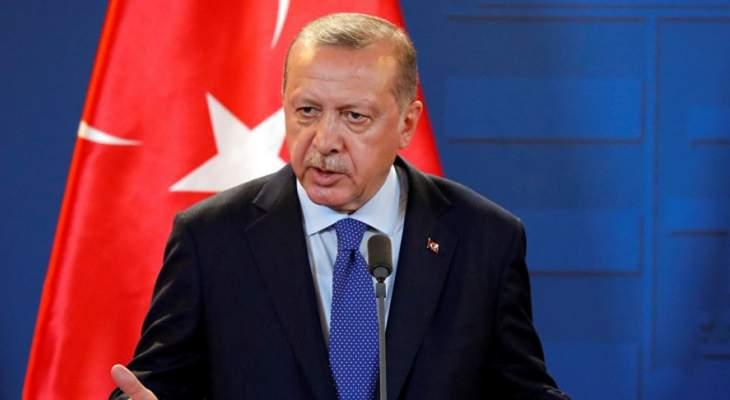 أردوغان: لن نصبر أكثر على الهجمات الاستفزازية بمناطقنا الآمنة في سوريا