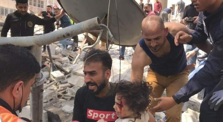 ارتفاع حصيلة ضحايا القصف الإسرائيلي على غزة إلى 174 قتيلا منهم 23 أمس