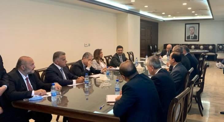 وزارة الدفاع: الجانب السوري أكد الاستعداد لمساعدة لبنان بتمرير الغاز المصري والكهرباء الأردنية عبر أراضي سوريا