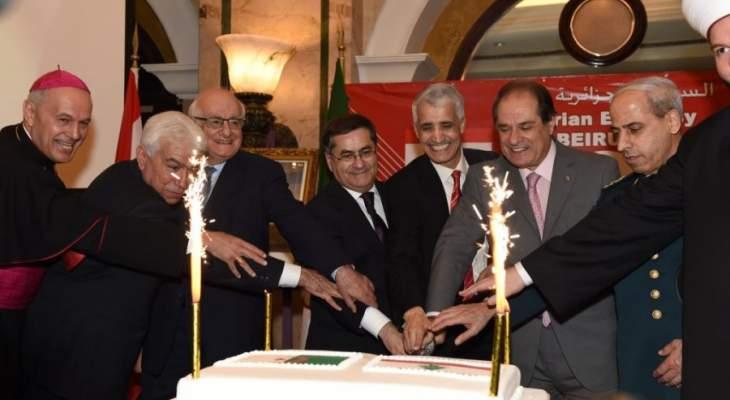 سفير الجزائر: اللبنانيون لديهم الحكمة ما يمكنهم من معالجة كل المسائل