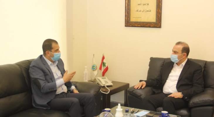 ممثل برنامج الغذاء العالمي: دعم لبنان اولوية لدينا ولن نوفر جهداً بسبيل تخفيف معاناة شعبه