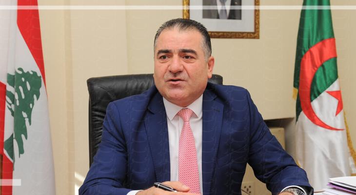 سفير لبنان لدى الجزائر عرض مع وزير التعليم الجزائري للعلاقات الثنائية واتفاقات الشراكة