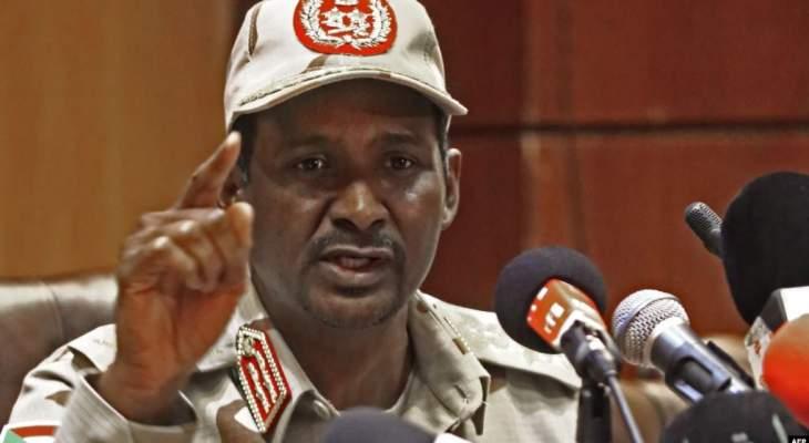 المجلس العسكري السوداني: نسعى إلى التفاوض لتنفيذ رغبات الشعب ولا نريد الاستمرار بالسلطة