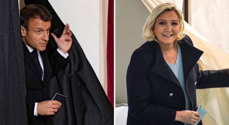 أ.ف.ب: التجمع الوطني بزعامة لوبان يتقدم على حزب ماكرون في الانتخابات الأوروبية بفرنسا