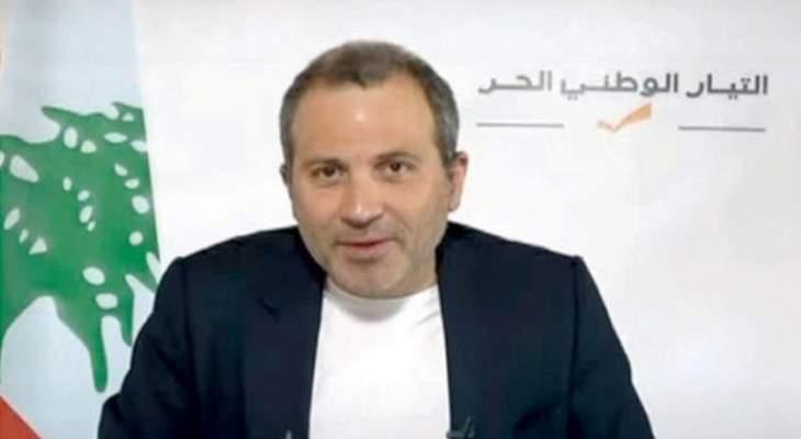 الجمهورية: باسيل لم يتلق من حزب الله تجاوباً مع طرحه الاخير