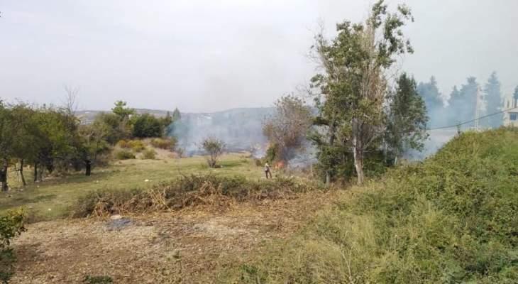 إخماد حريق في وطى الجوز وآخر بطرماز وإندلاع حريقان في إيزال والروضة