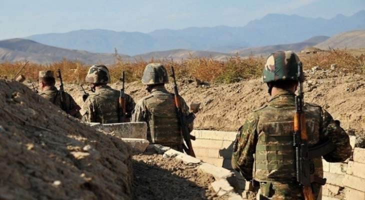 الدفاع الأذربيجانية: مقتل قائد كتيبة مدرعة تابعة للقوات الأرمينية