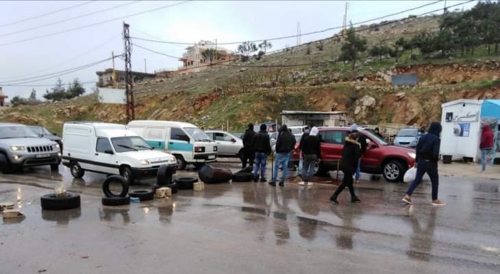 قطع عدد من الطرقات على مختلف الأراضي اللبنانية