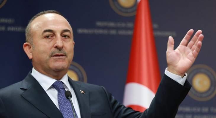الخارجية التركية: نستخدم قوتنا العسكرية في سوريا للقضاء على الارهاب