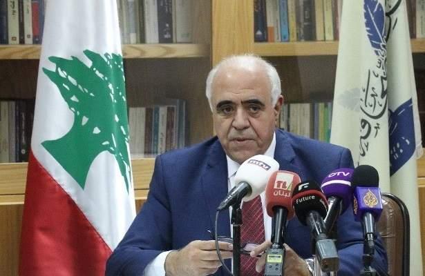 القصيفي التقى لجنة اهالي ضحايا انفجار المرفأ: لا عزاء الا بمعرفة الحقيقة
