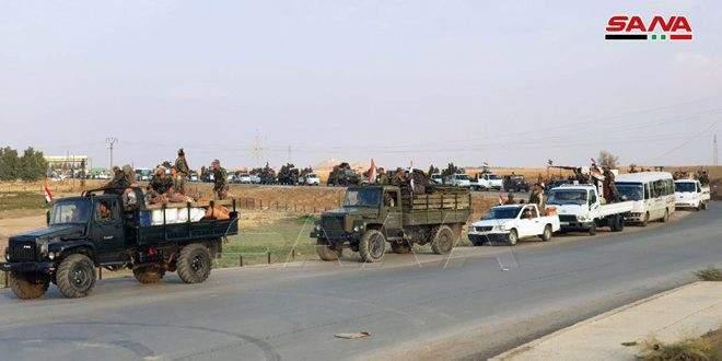 """""""سانا"""": إعادة فتح الطريق الدولي الحسكة- حلب أمام حركة النقل والسير"""