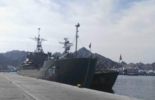 مجموعة بحرية إيرانية رست بميناء اكتايو في كازاخستان بهدف تعزيز الصداقة بين البلدين