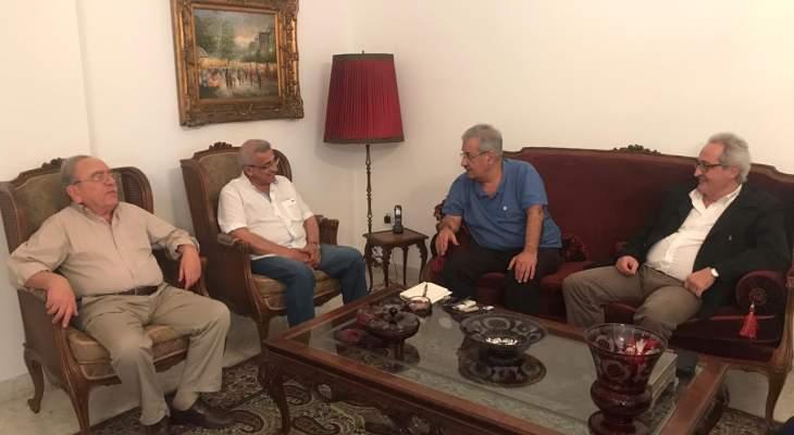 أسامة سعد وشربل نحاس يدعوان لتشكيل حكومة انتقالية انقاذية