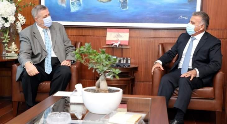 اللواء ابراهيم عرض مع كوبيتش الأوضاع العامة في لبنان