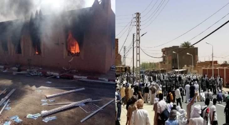 توقيفات وجرحى في أحداث عنف بأقصى جنوب الجزائر بسبب مطالب بالتوظيف