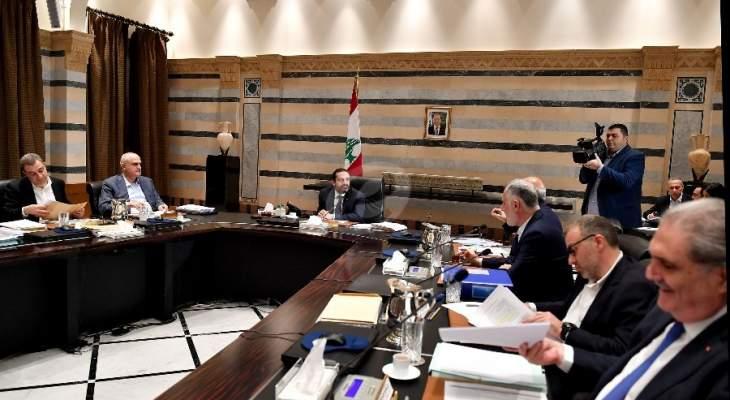 مصادر وزارية للـMTV: لم يحدث أي توتر خلال جلسة الحكومة اليوم
