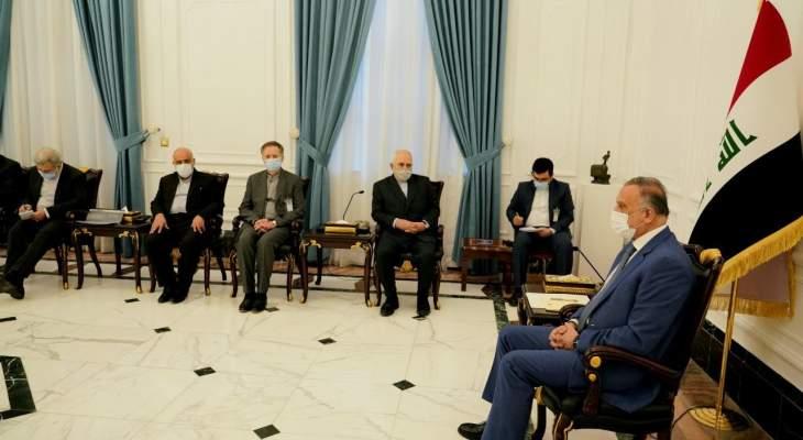 ظريف: نرفض أي تصرف أو سلوك يؤثر سلبا على الأمن في العراق