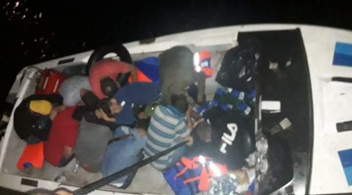 الجيش: إحباط محاولة تهريب سوريين عبر البحر بطريقة غير شرعية