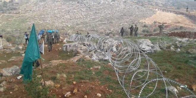 النشرة: قوة إسرائيلية خرقت السياج التقني بخراج ميس الجبل وأجرت عملية مسح