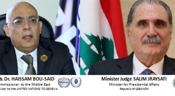 السفير أبو سعيد: الرئيس عون بدأ بتحقيق مشروعه الإصلاحي ويحظى بدعم المؤسسات الدولية