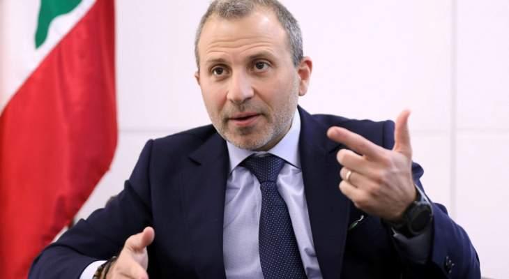 مصادر للأنباء: الحكومة المقبلة هي نهاية الوجود السياسي لباسيل إذا شكلها الحريري بمعزل عنه