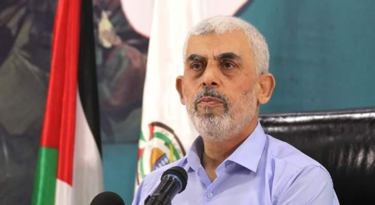 السنوار: حماس كانت مستعدة لوقف إطلاق النار فورا والمعركة ضد إسرائيل لا تزال مفتوحة