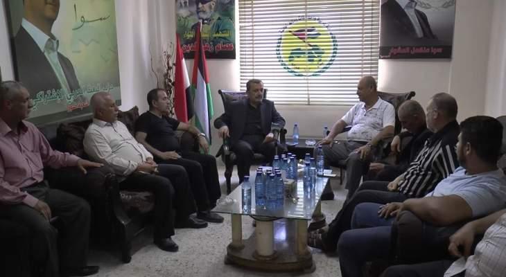 عز الدين زار قيادة حزب البعث العربي الاشتراكي في صور