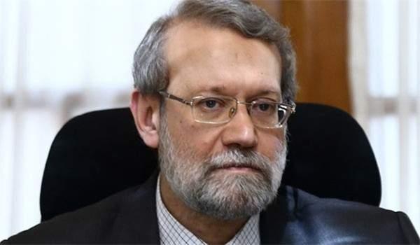 النشرة: لاريجاني غادر القصر الجمهوري دون الإدلاء بتصريح